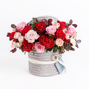 FRESH FLOWER HAT BOX