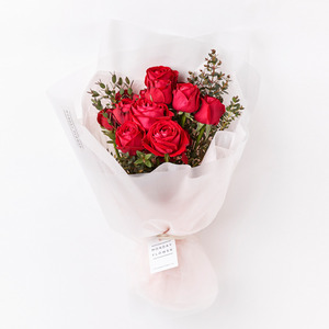 ROSE RED PIANO HANDTIED